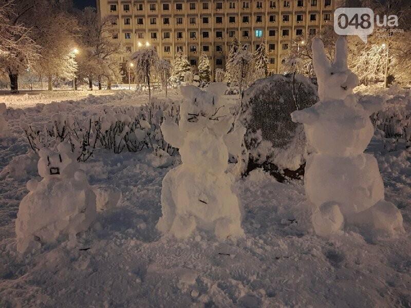 Одессу захватили снеговики, - ФОТОРЕПОРТАЖ , фото-4