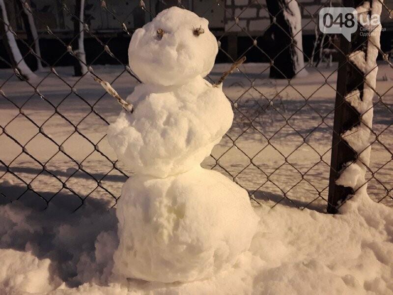 Одессу захватили снеговики, - ФОТОРЕПОРТАЖ , фото-19
