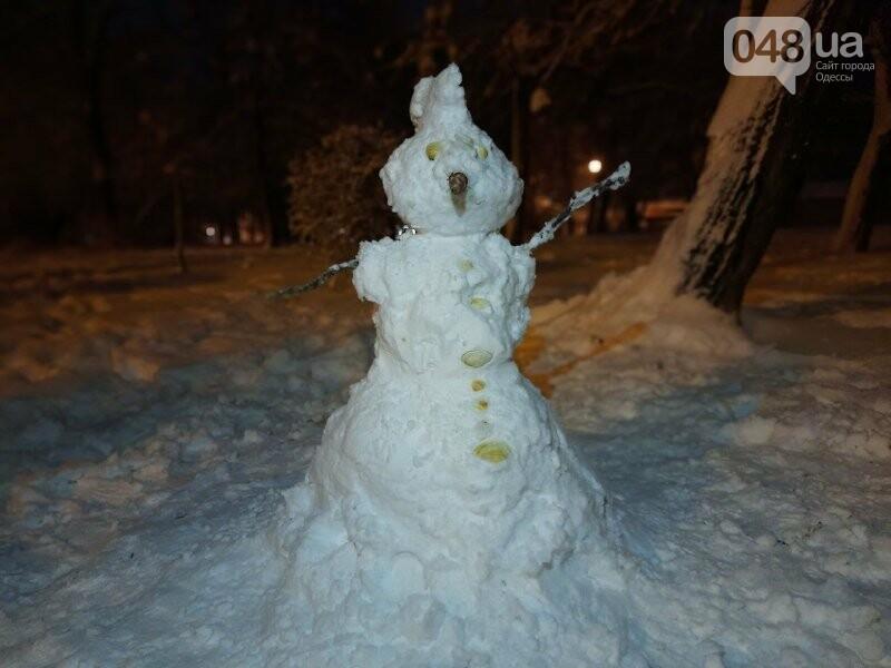 Одессу захватили снеговики, - ФОТОРЕПОРТАЖ , фото-9
