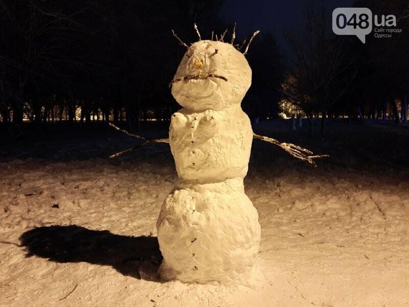 Одессу захватили снеговики, - ФОТОРЕПОРТАЖ , фото-22