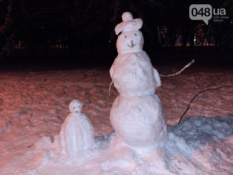 Одессу захватили снеговики, - ФОТОРЕПОРТАЖ , фото-8
