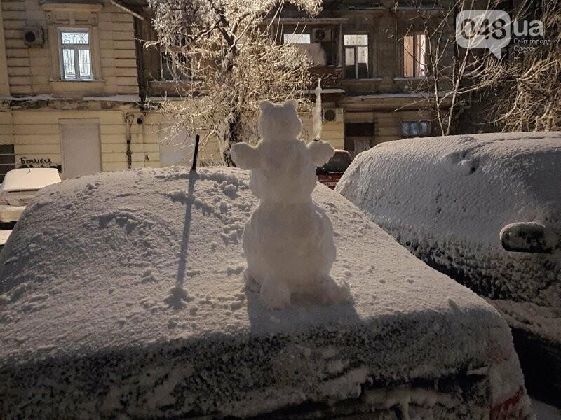 Одессу захватили снеговики, - ФОТОРЕПОРТАЖ , фото-6