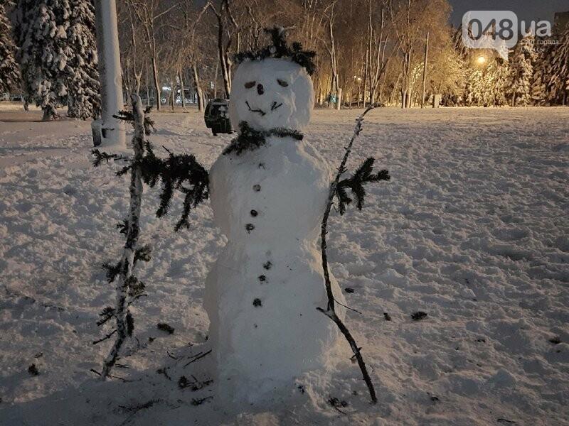 Одессу захватили снеговики, - ФОТОРЕПОРТАЖ , фото-24