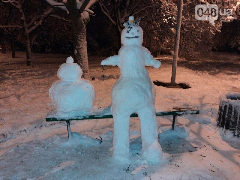 Одессу захватили снеговики, - ФОТОРЕПОРТАЖ , фото-7
