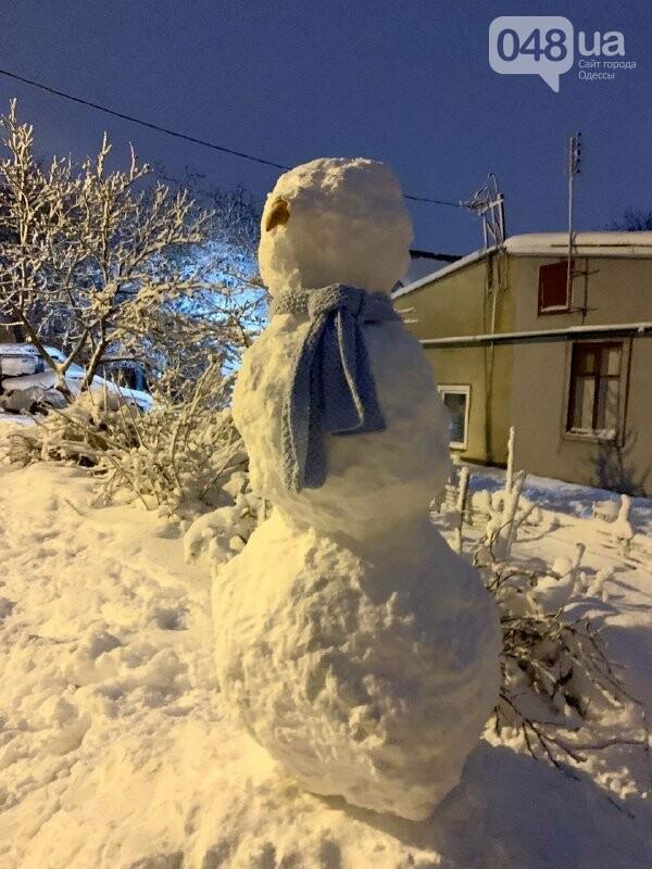 Одессу захватили снеговики, - ФОТОРЕПОРТАЖ , фото-10