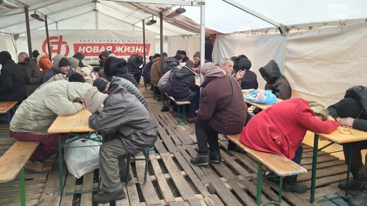 В Одессе подростки с пистолетом напали на пункт обогрева для бездомных: появились подробности, фото-8, ФОТО: Александр Жирносенко