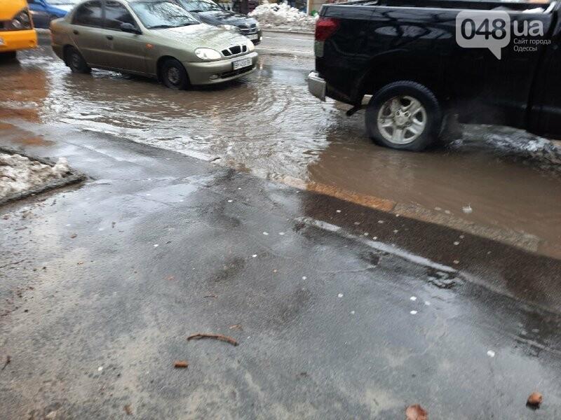 Непогода принесла одесситам очередные проблемы: пробки, дождь и ДТП, - ФОТО, фото-1