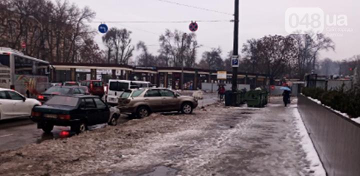 Непогода принесла одесситам очередные проблемы: пробки, дождь и ДТП, - ФОТО, фото-12