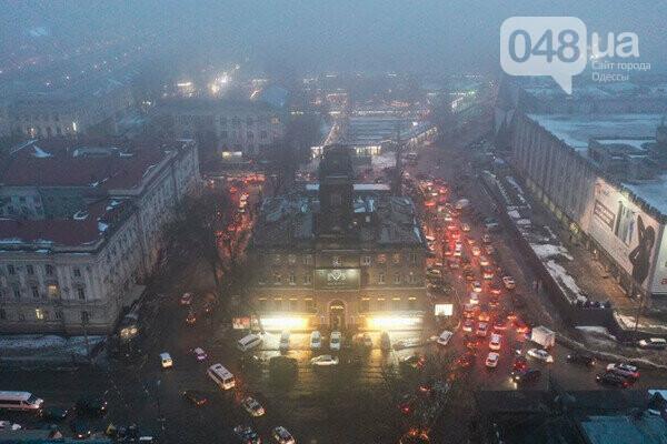 Из-за ремонта Новощепного центр Одессы сковали пробки,- ФОТО, фото-3