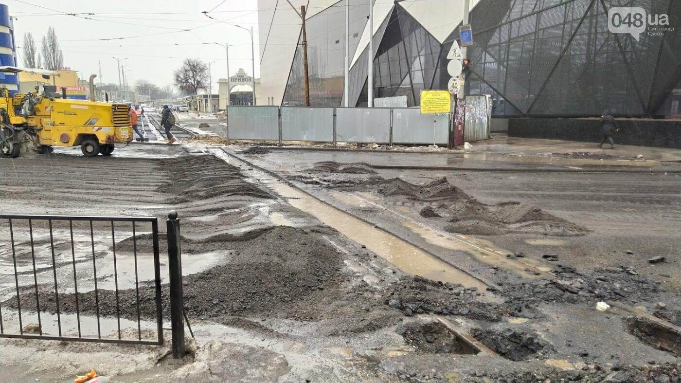 В Одессе закрыли один из самых оживленных участков дороги: ожидаются пробки - ФОТО, фото-7, ФОТО: Александр Жирносенко.