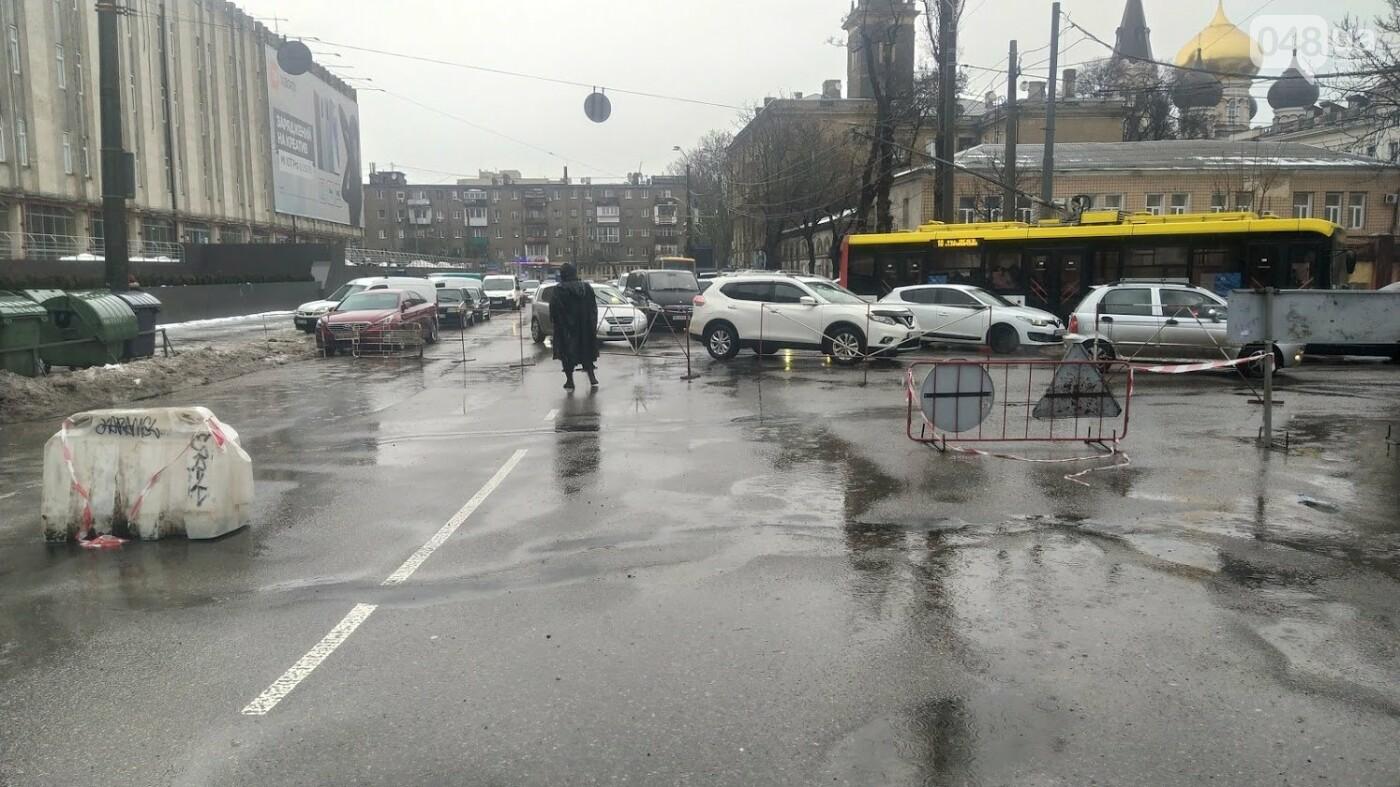 В Одессе закрыли один из самых оживленных участков дороги: ожидаются пробки - ФОТО, фото-12, ФОТО: Александр Жирносенко.