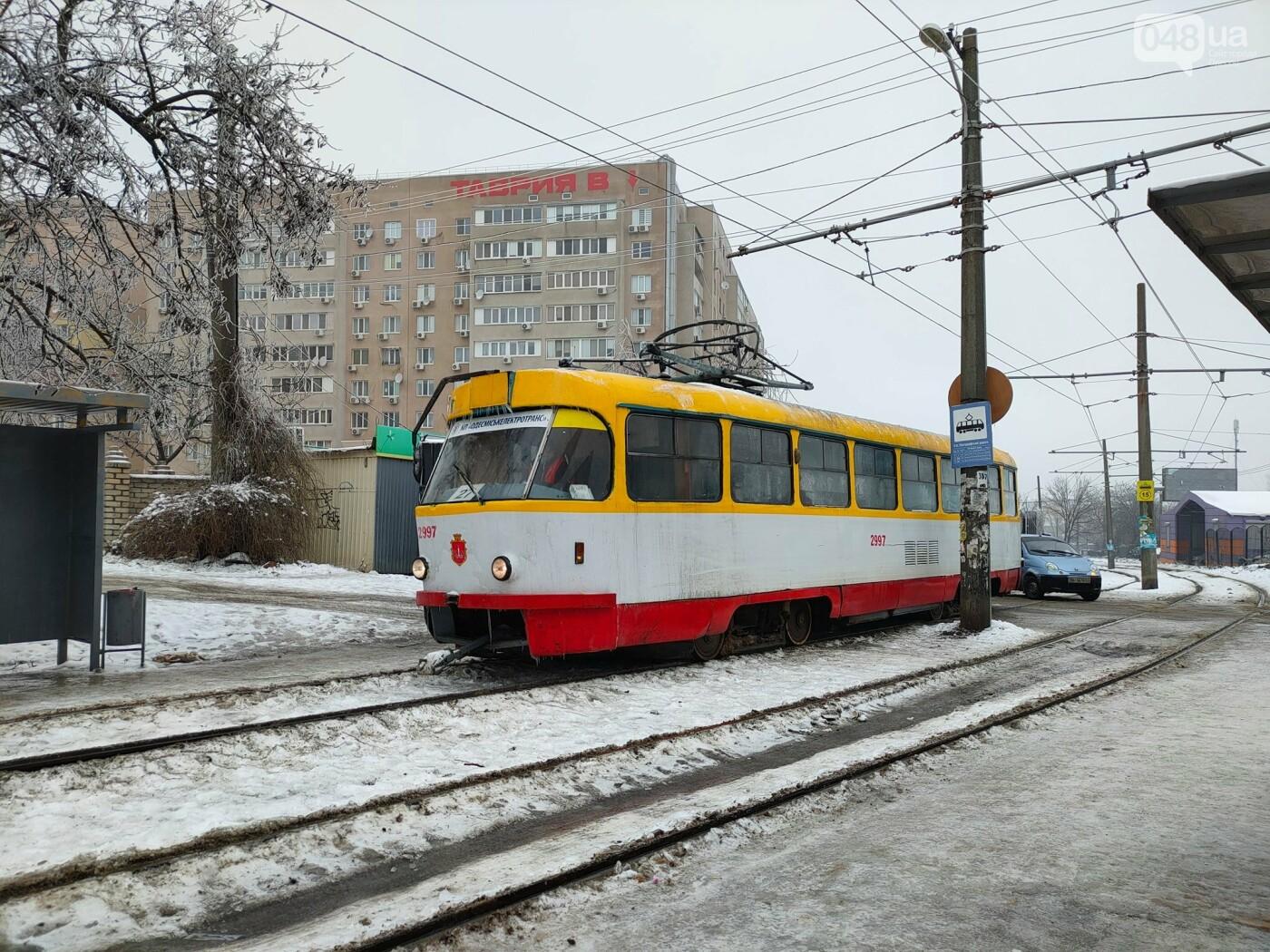 В Одессе на Люстдорфской дороге сломался трамвай, - ФОТО, фото-11