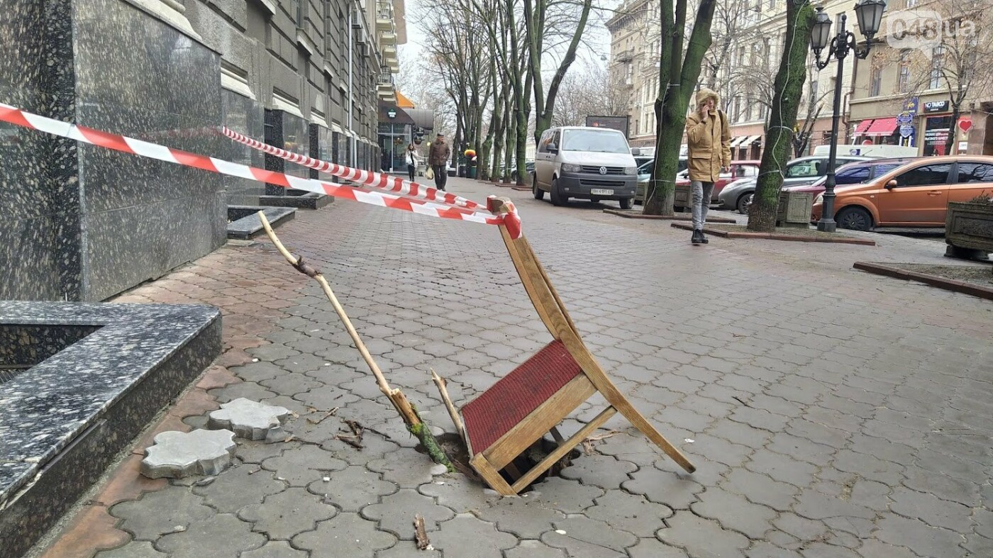 На Дерибасовской в Одессе образовались ямы, - ФОТО, фото-23, ФОТО: Александр Жирносенко.