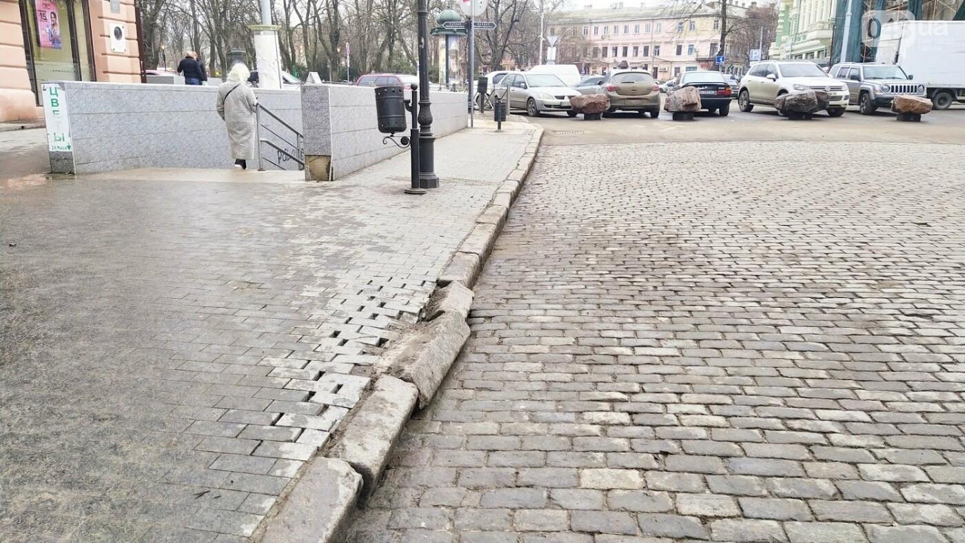 На Дерибасовской в Одессе образовались ямы, - ФОТО, фото-22, ФОТО: Александр Жирносенко.