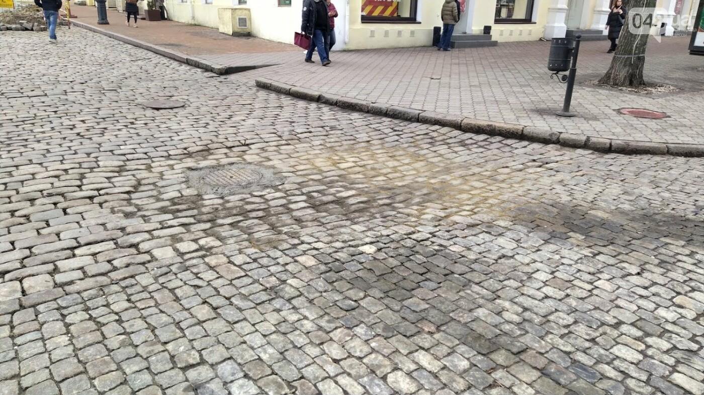 На Дерибасовской в Одессе образовались ямы, - ФОТО, фото-6, ФОТО: Александр Жирносенко.