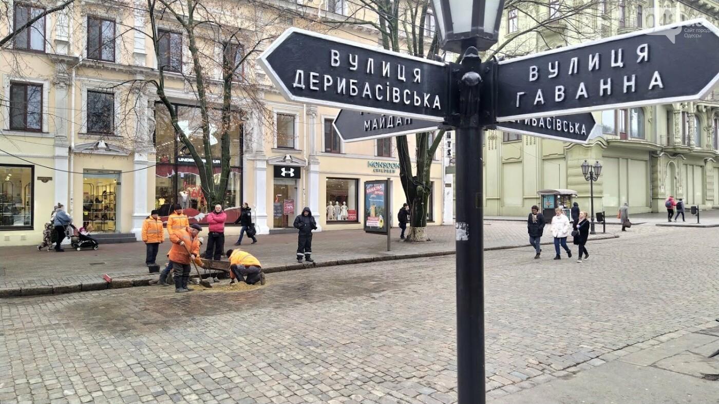 На Дерибасовской в Одессе образовались ямы, - ФОТО, фото-18, ФОТО: Александр Жирносенко.