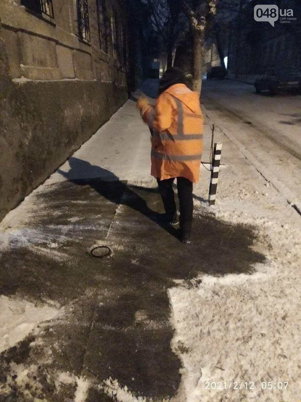 В Одессе около 100 автомобилей всю ночь разгребали снег и посыпали улицы,- ФОТО, ВИДЕО, фото-2