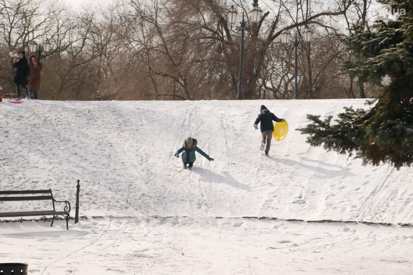 Фотопятница в Одессе: зимнее веселье в парке Шевченко, - ФОТОРЕПОРТАЖ, фото-17