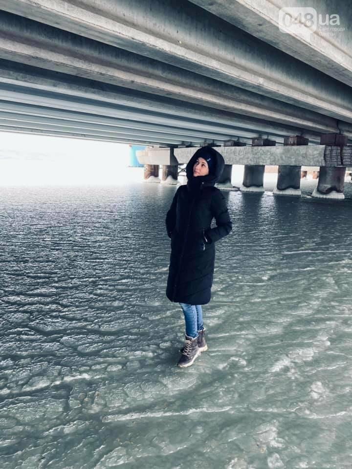 Хаджибейский лиман замерз, -ФОТОФАКТ, фото-1