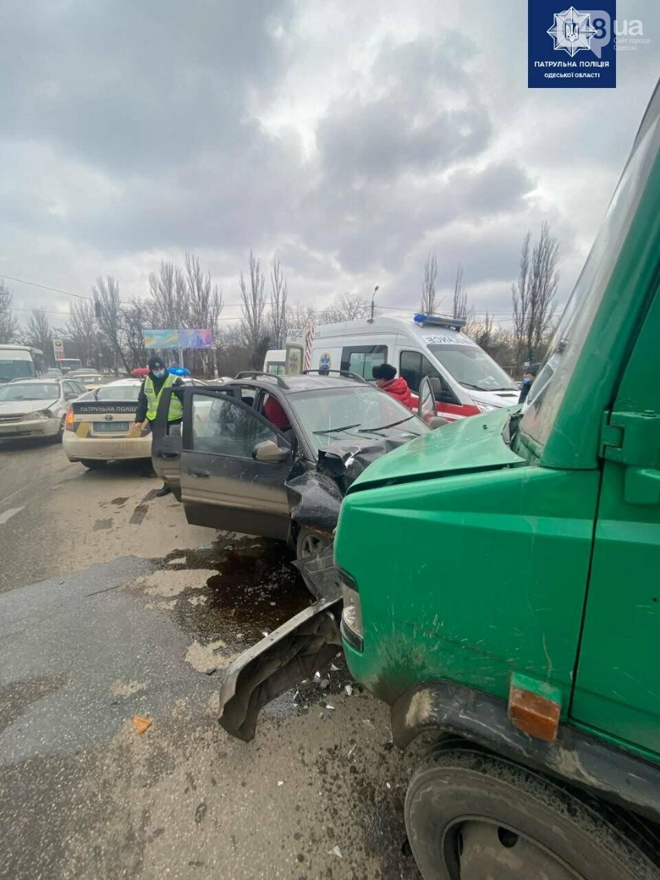 В Одессе возле аэропорта произошло ДТП, - ФОТО, фото-1