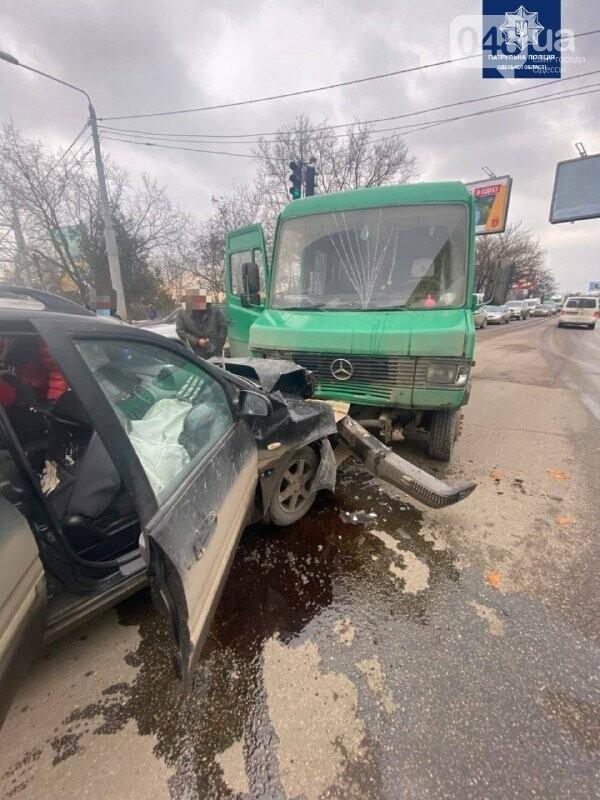 В Одессе возле аэропорта произошло ДТП, - ФОТО, фото-2