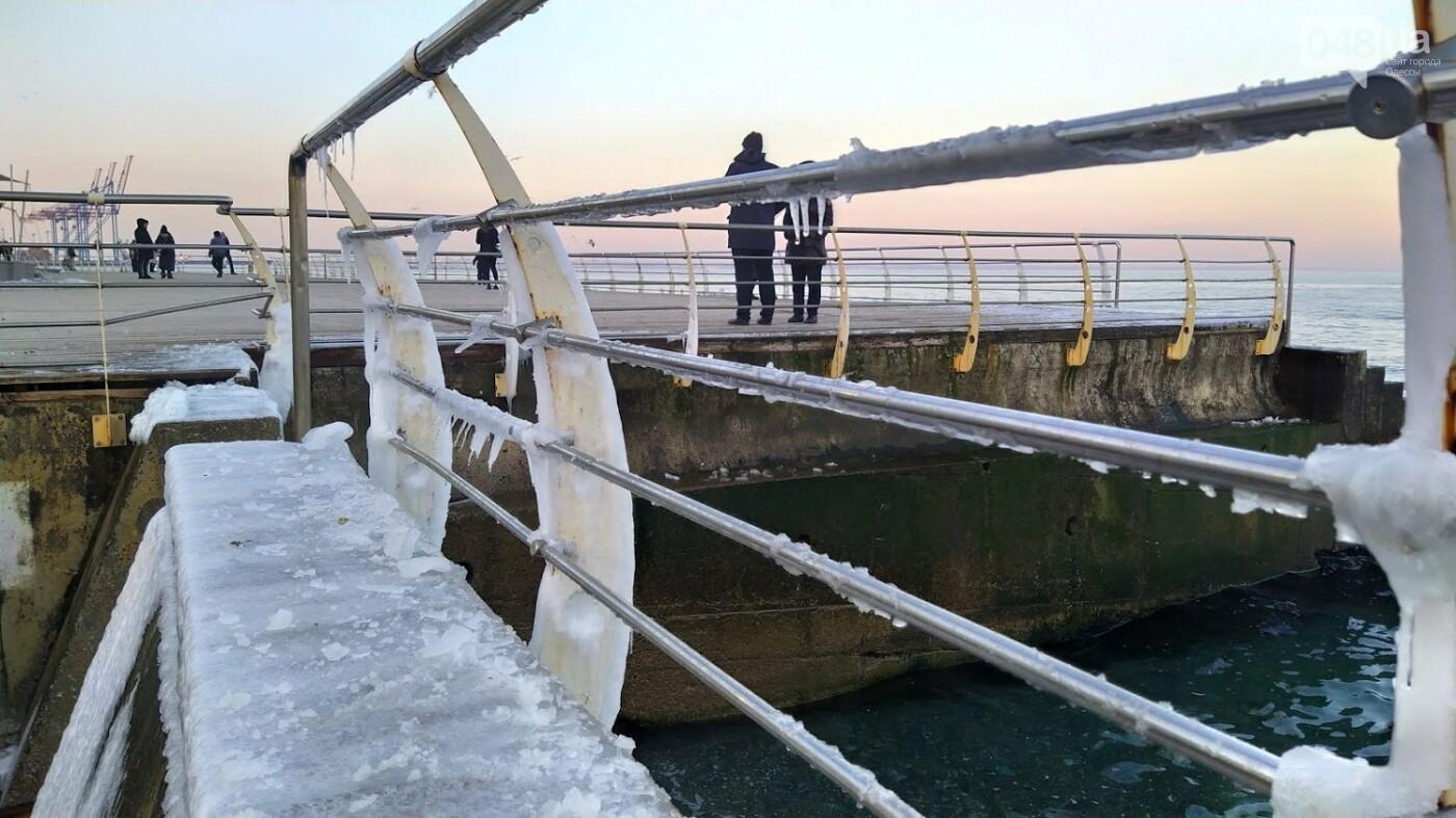 Фотопятница в Одессе: февральские морозы в Южной Пальмире, - ФОТО, фото-4, ФОТО: Александр Жирносенко