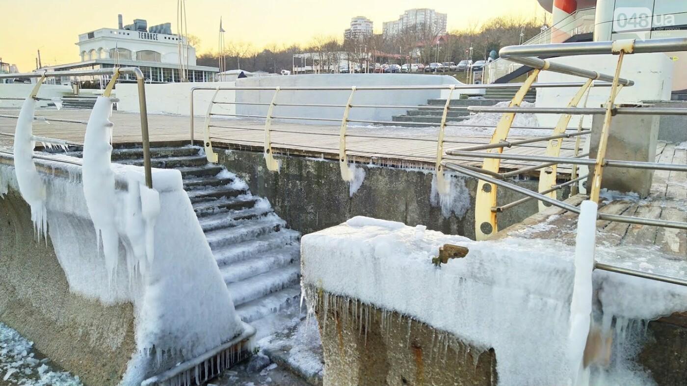 Фотопятница в Одессе: февральские морозы в Южной Пальмире, - ФОТО, фото-6, ФОТО: Александр Жирносенко