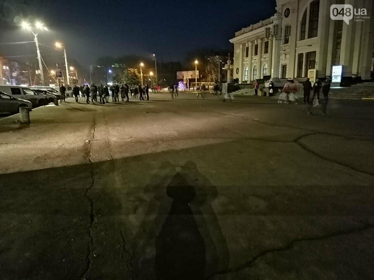 В Одессе таксисты позвали всех на митинг, а сами не приехали,- ФОТО, фото-1