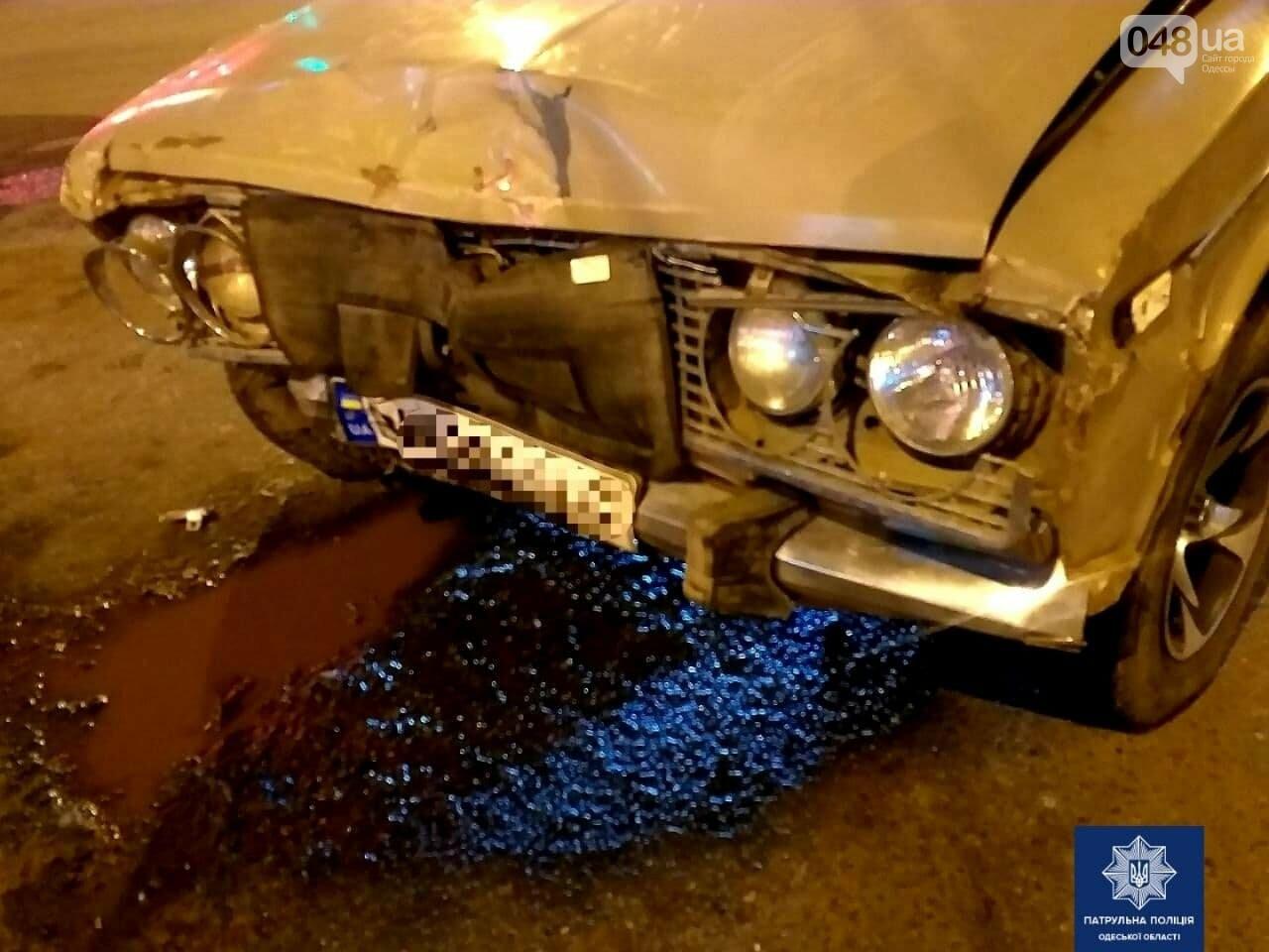 ДТП с пострадавшим: в Одессе Opel и ВАЗ не поделили дорогу, фото-2