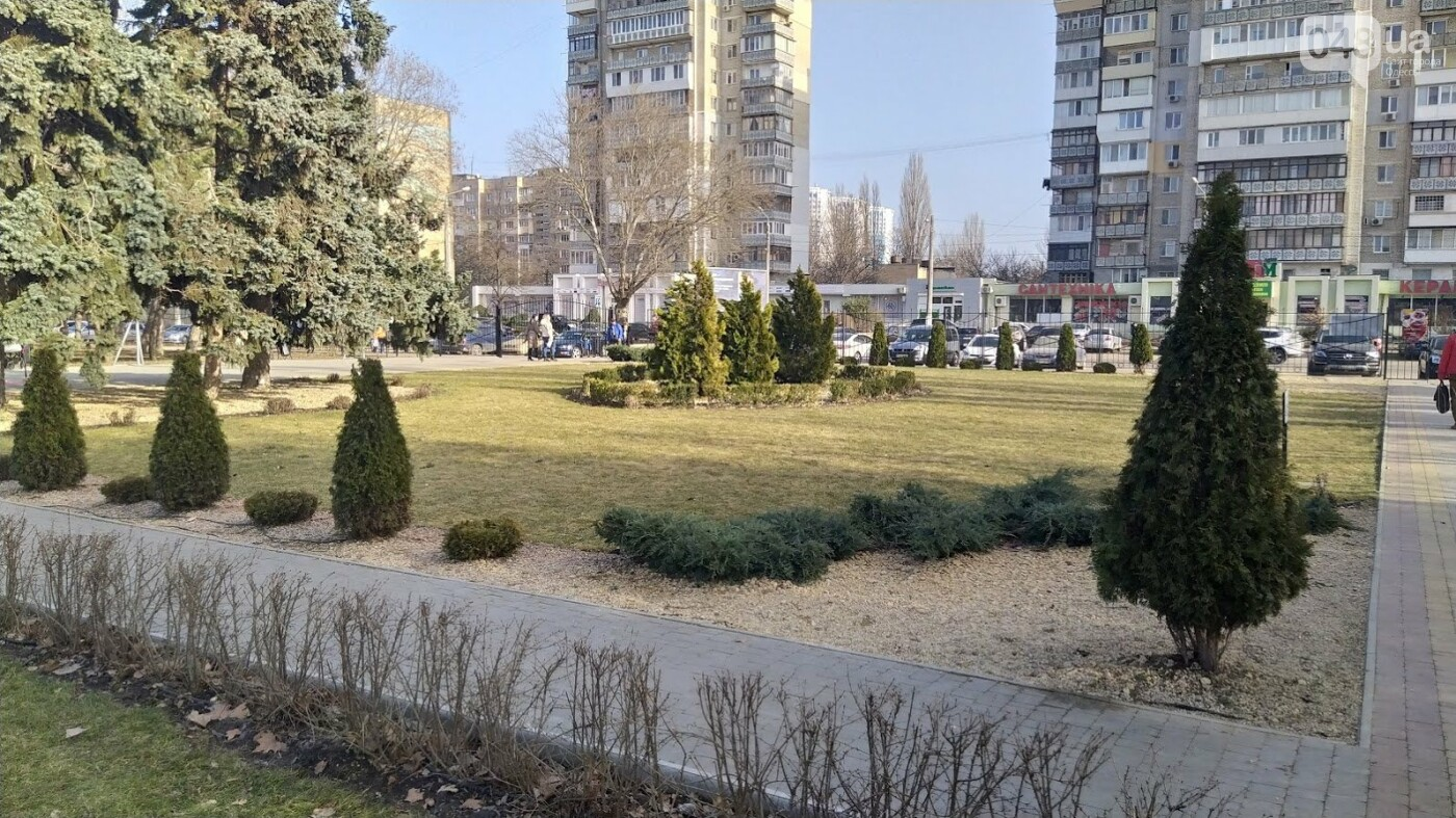 Весна в Одессе.