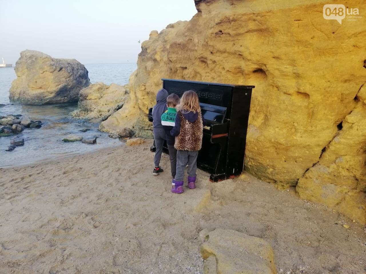 Пианино на Отраде: В Одессе на пляже звучит музыка,- ФОТО, ВИДЕО , фото-2