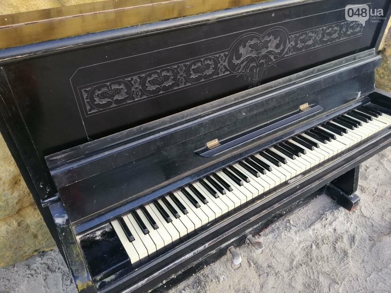 Пианино на Отраде: В Одессе на пляже звучит музыка,- ФОТО, ВИДЕО , фото-10