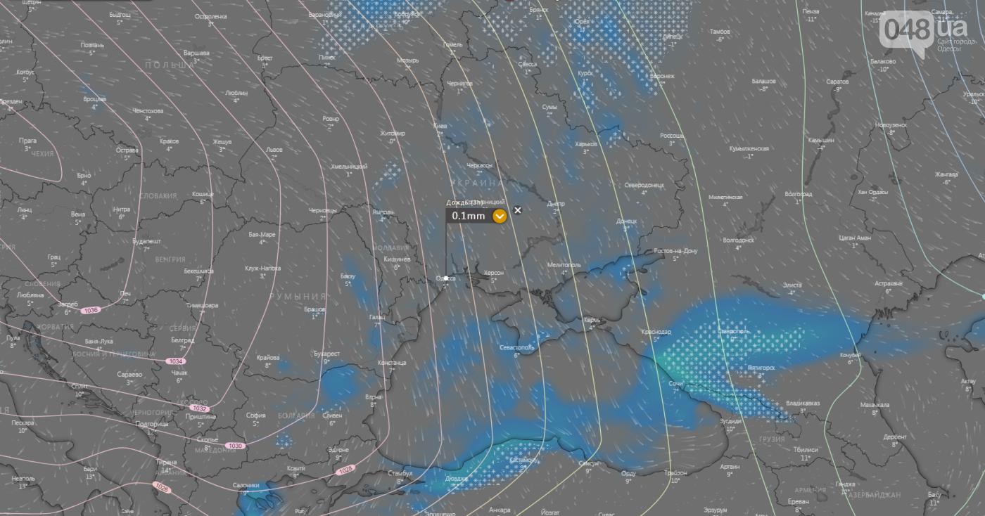 Погода в Одессе сегодня, 28 февраля.