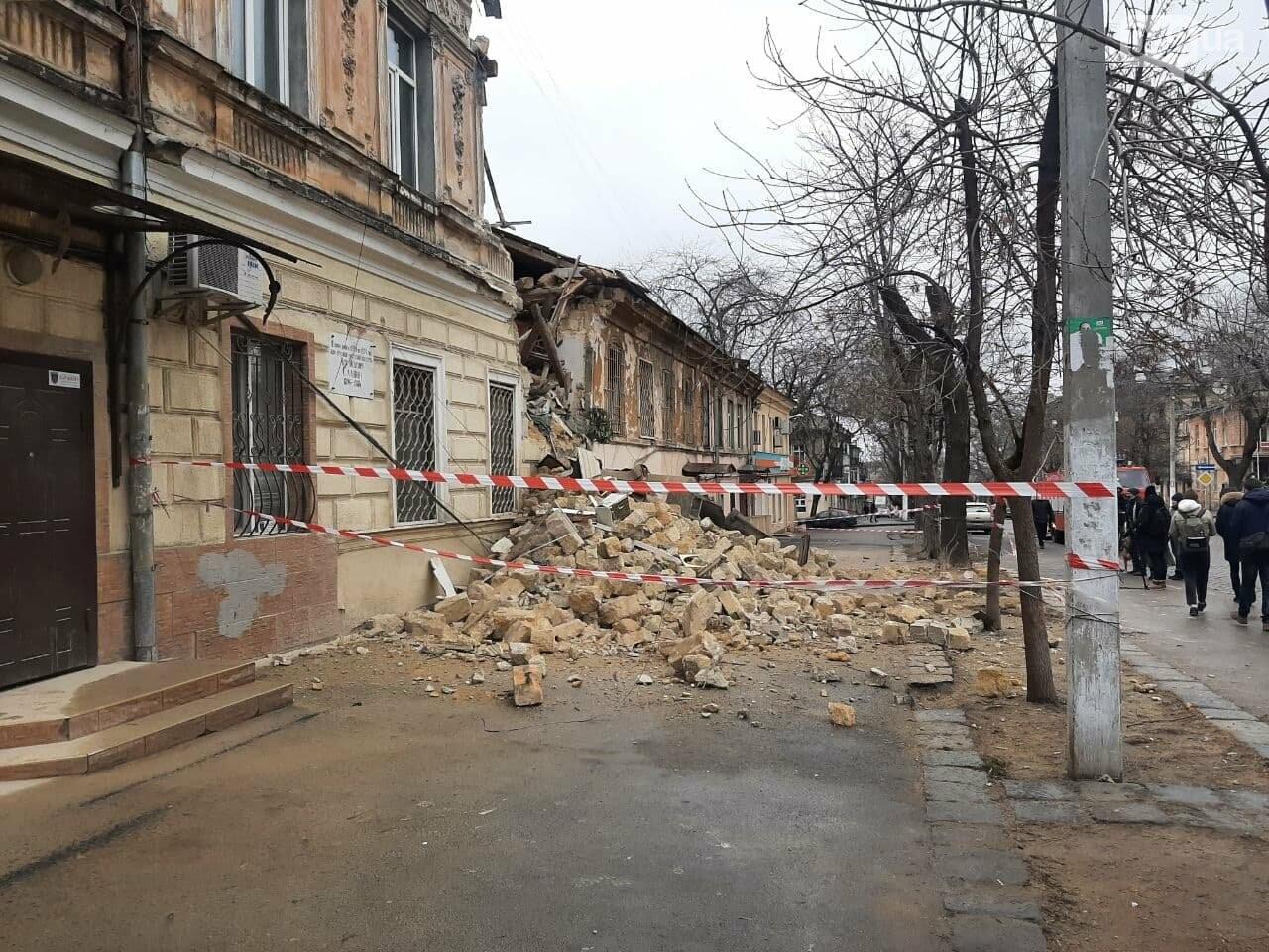 В центре Одессы обрушился дом, жильцов эвакуировали, - ФОТОРЕПОРТАЖ, фото-5