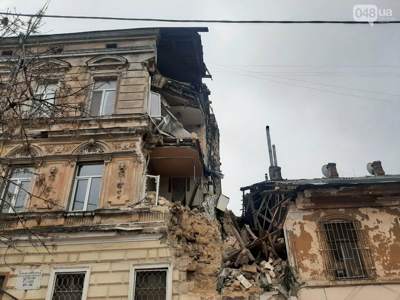 Обвал дома в Одессе: жильцы и горсовет рассказали подробности, - ФОТО, фото-3