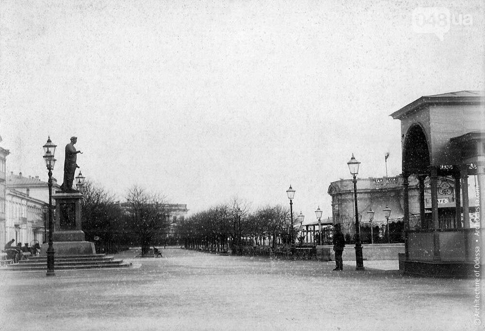 Приморский бульвар в Одессе сегодня и много лет назад: подборка фотографий, - ФОТО , фото-17
