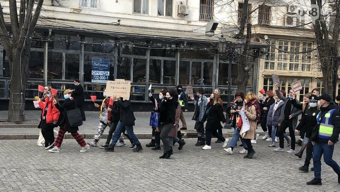"""Патриархат против равенства: В Одессе """"традиционные"""" пытались сорвать марш женщин,- ФОТО, ВИДЕО, фото-1"""