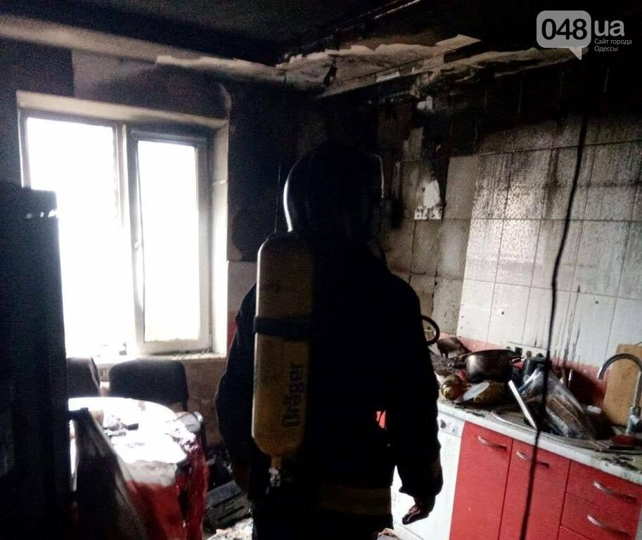 В Одессе на поселке Котовского горела квартира, - ФОТО, фото-2