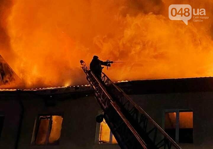 В полночь в Одесской области произошел пожар на СТО,- ФОТО, фото-2