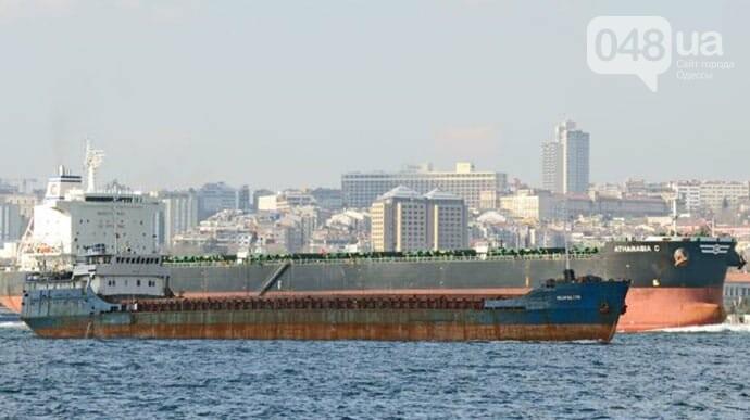 В Черном море затонул сухогруз с украинцами на борту, фото-1