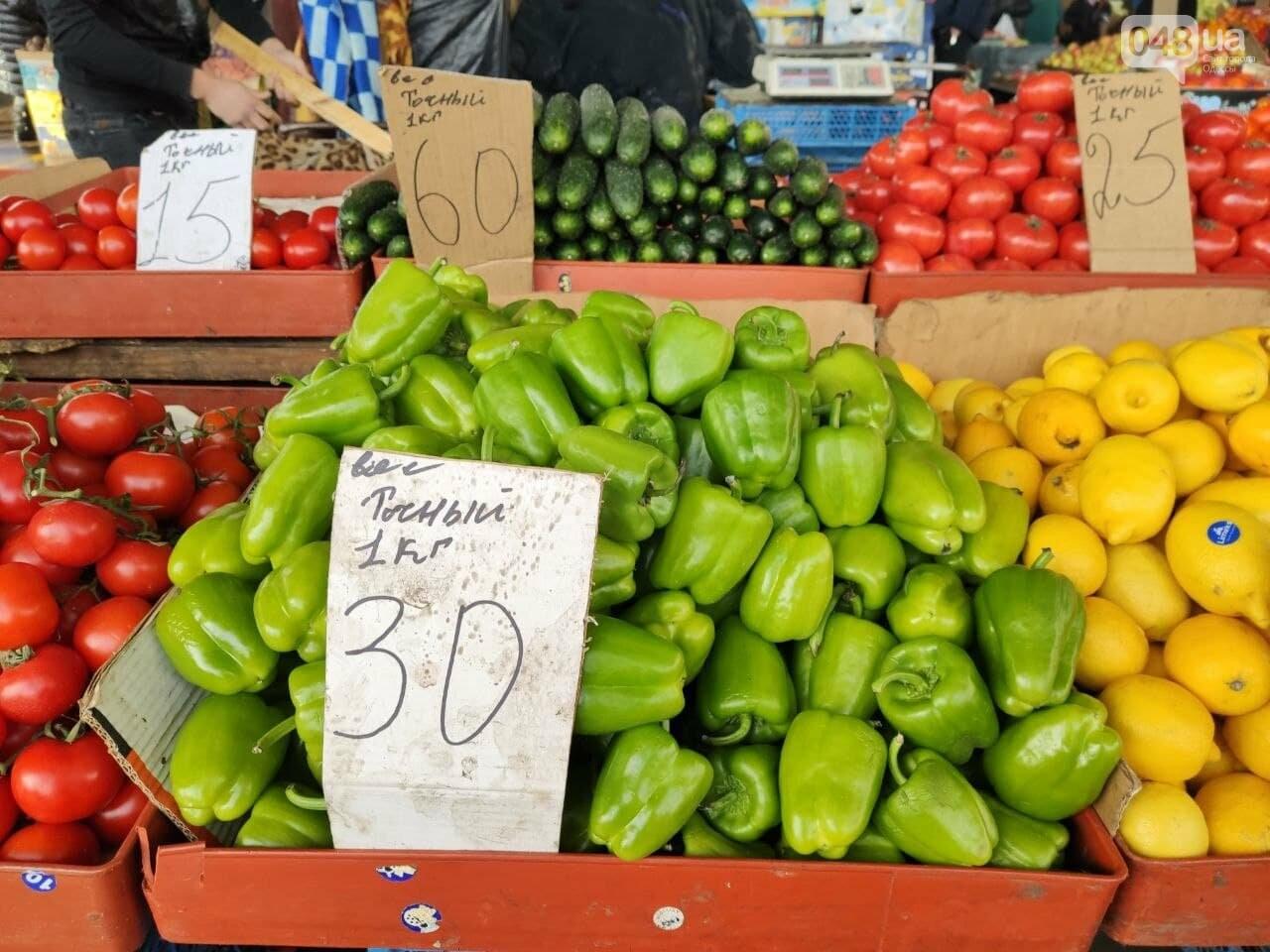 Огурцы, баклажаны, манго: почем на одесском Привозе фрукты и овощи, - ФОТО, фото-1