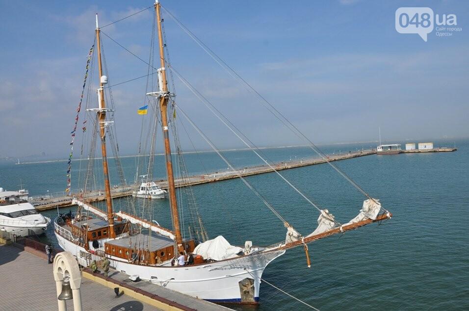 В Одесский порт пришвартовался уникальный парусник, которому 105 лет,- ФОТО, фото-3