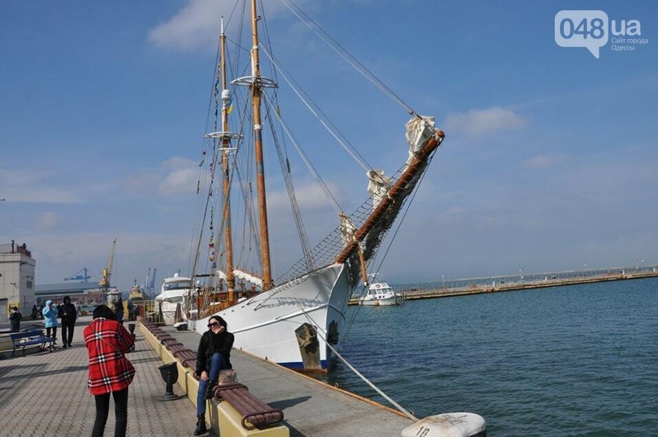 В Одесский порт пришвартовался уникальный парусник, которому 105 лет,- ФОТО, фото-2