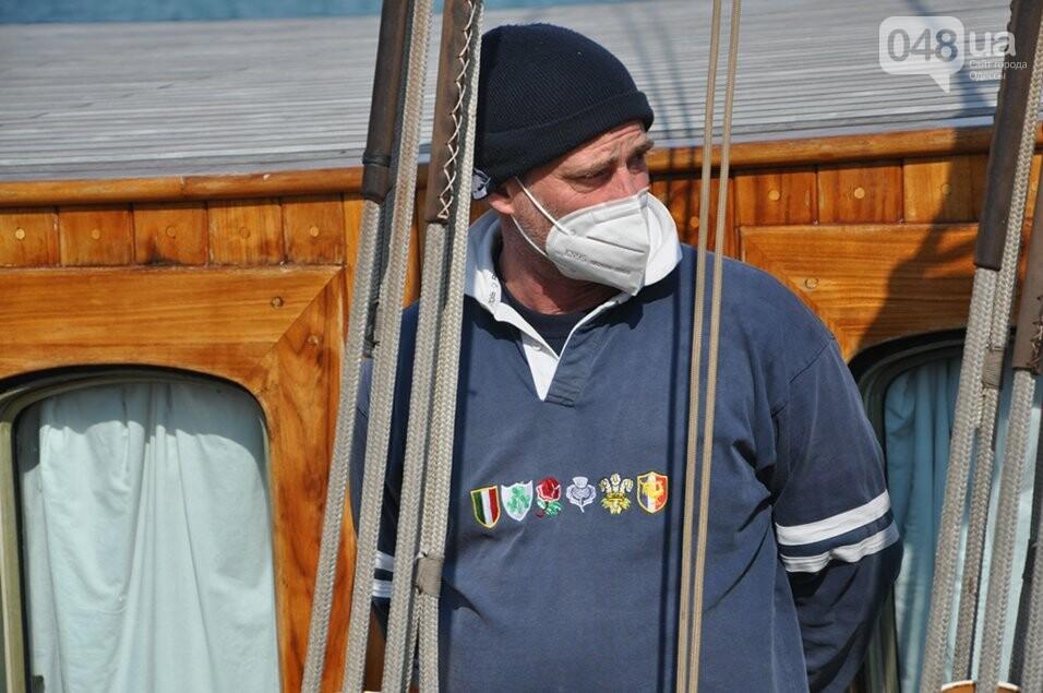 В Одесский порт пришвартовался уникальный парусник, которому 105 лет,- ФОТО, фото-5