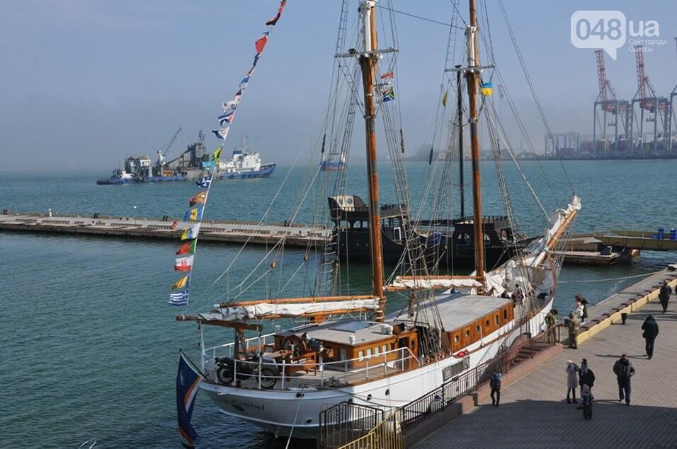 В Одесский порт пришвартовался уникальный парусник, которому 105 лет,- ФОТО, фото-1