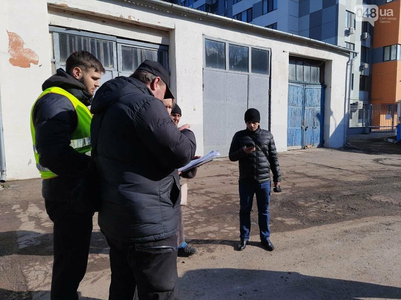 Охрана одесского застройщика не пустила прокурора провести следственные действия, - ФОТО, ВИДЕО , фото-8