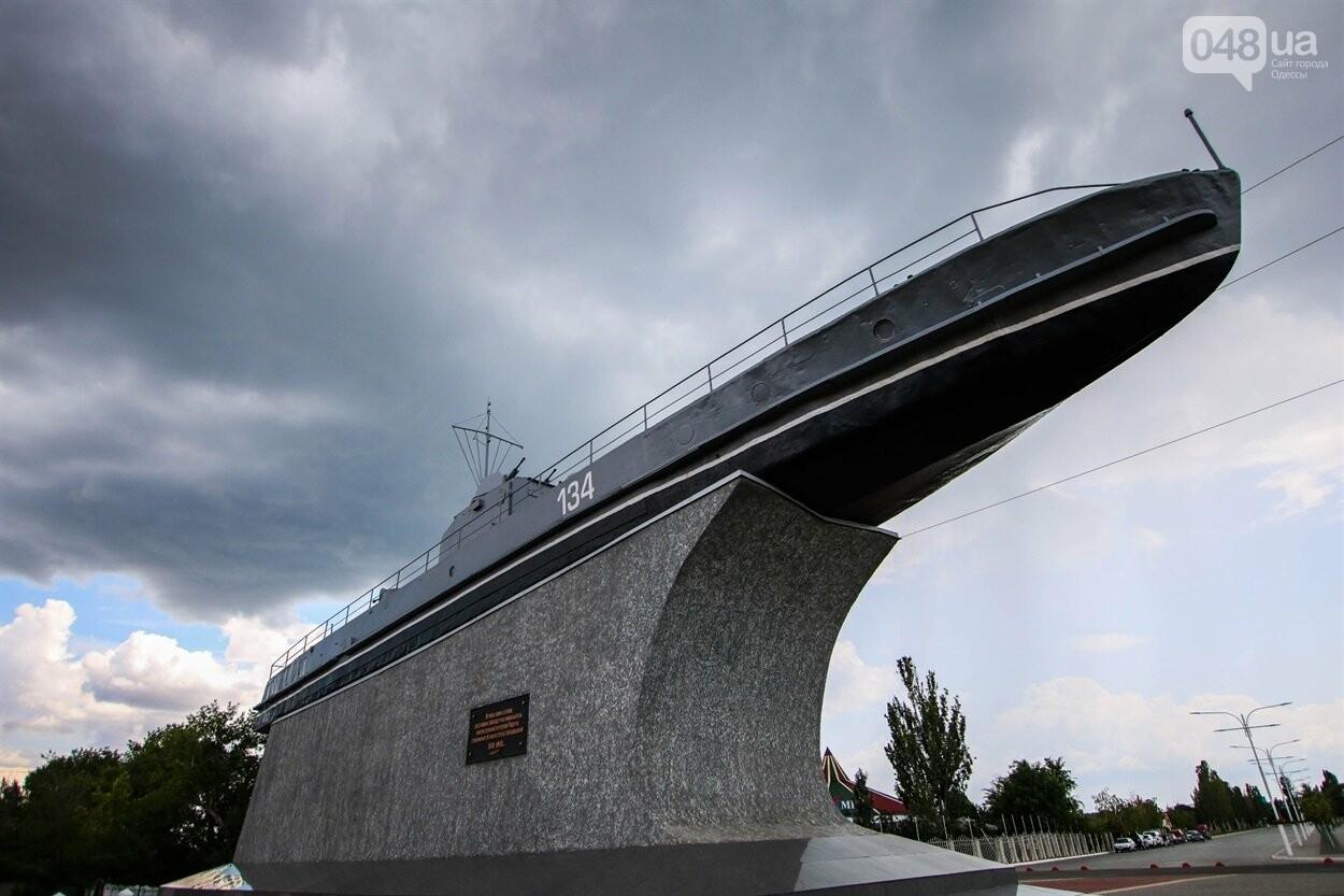 Памятник морякам-дунайцам в городе Измаил.