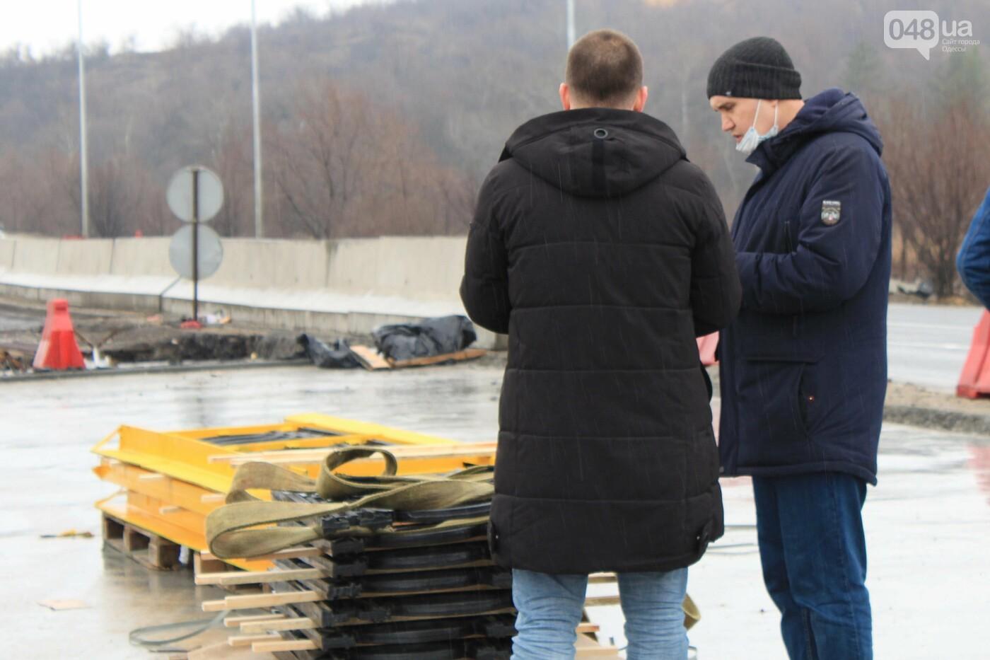 В Одессе движение по мосту через Хаджибейский лиман планируют открыть к лету,  - ФОТО,  ВИДЕО, фото-13