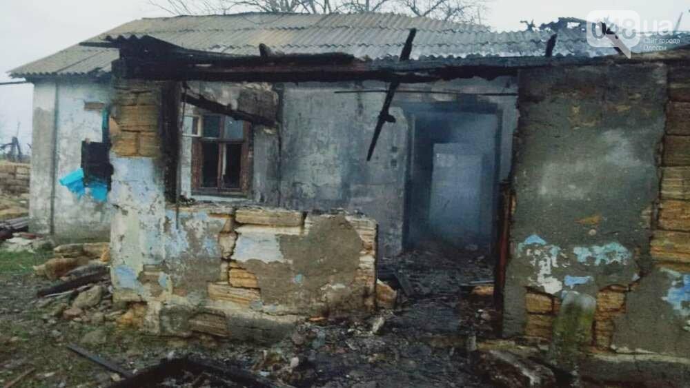 Ночной пожар в Одесской области унес жизни двоих человек, - ФОТО, фото-1