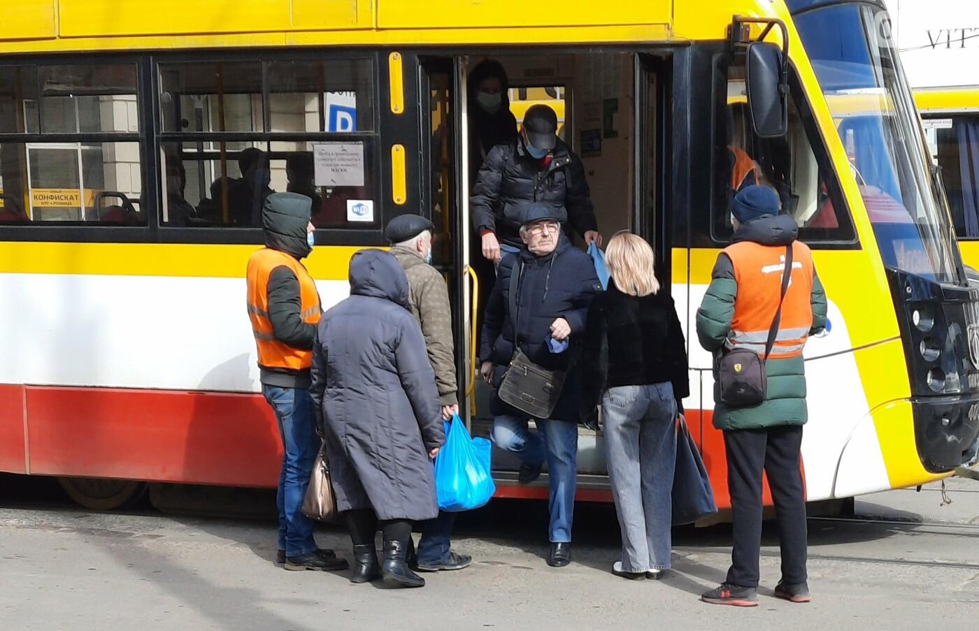 Карантин наполовину: как в Одессе работает общественный транспорт, - ФОТО  , фото-4